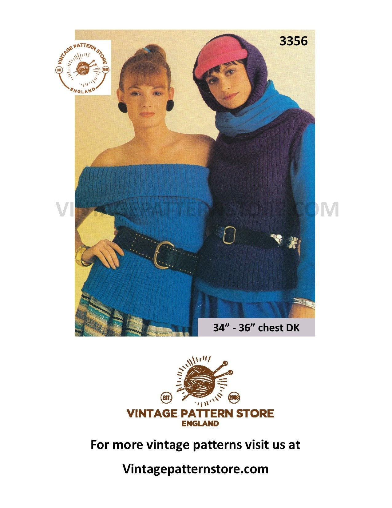 Off The Shoulder Sweater Knitting Pattern Off Shoulder Sweater Knitting Pattern Womens 80s Rib Slipover