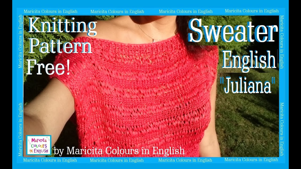 Off The Shoulder Sweater Knitting Pattern Sweater Off Shoulder Knitting Juliana Maricita Colours In English Blouse Pattern Free