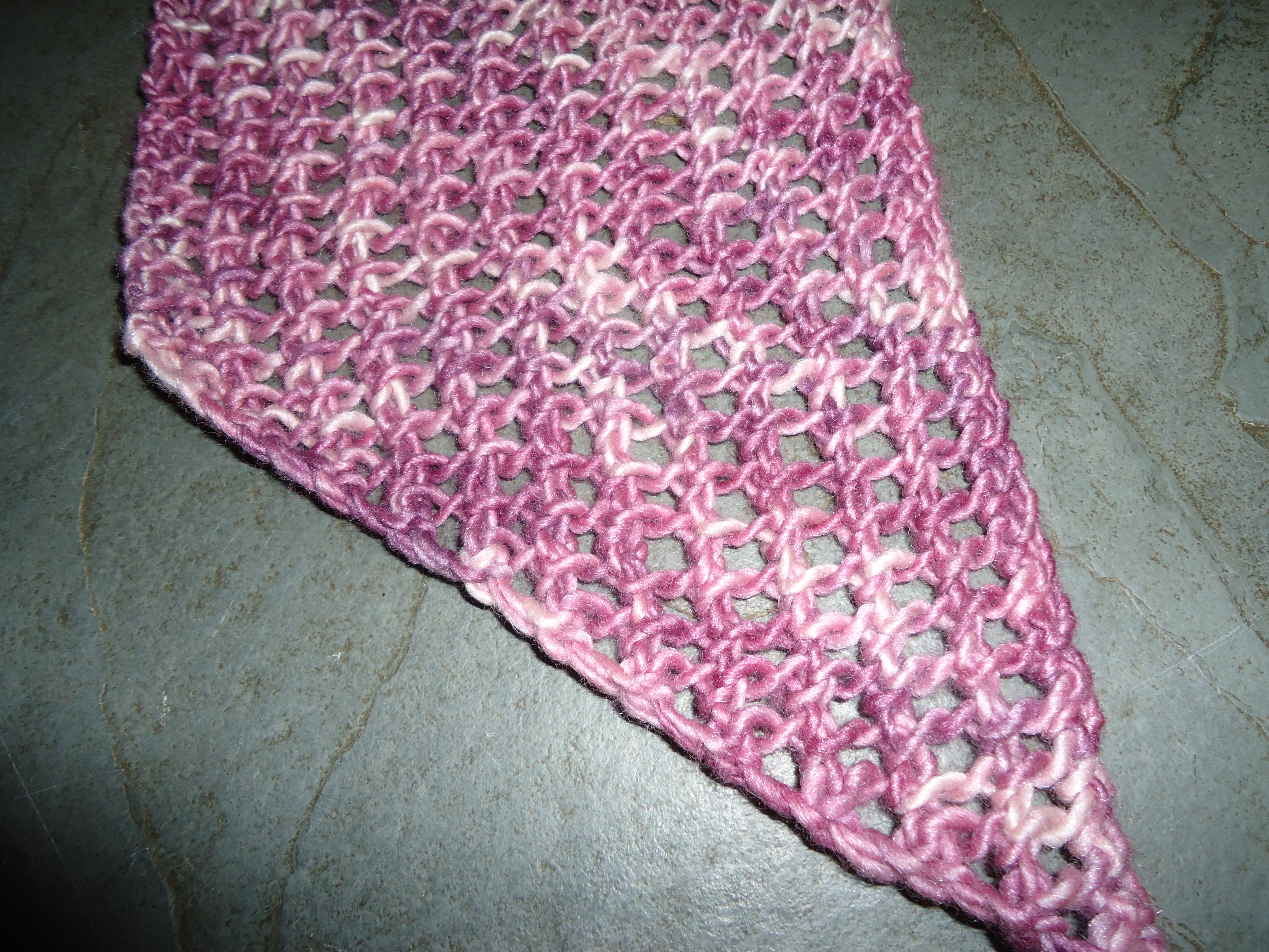 Open Knit Scarf Pattern Easy Lace Mesh Scarf For Beginners Ox Knit