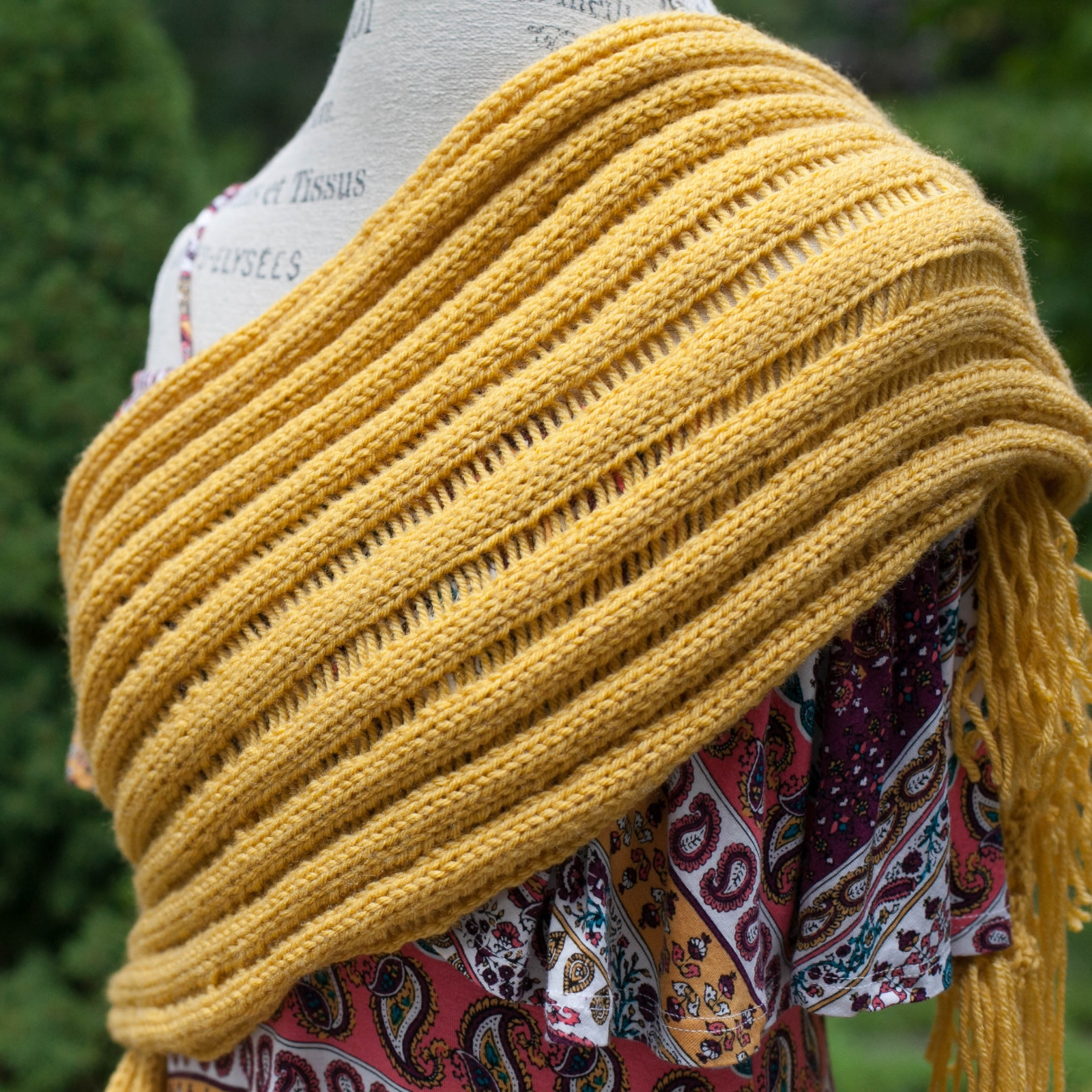 Open Knit Scarf Pattern Loom Knit Scarf Pattern Drop Stitch Open Weave Ribbed Look Finished Scarf Can Be Worn In Many Ways Excellent Drape Beginner Friendly Loom