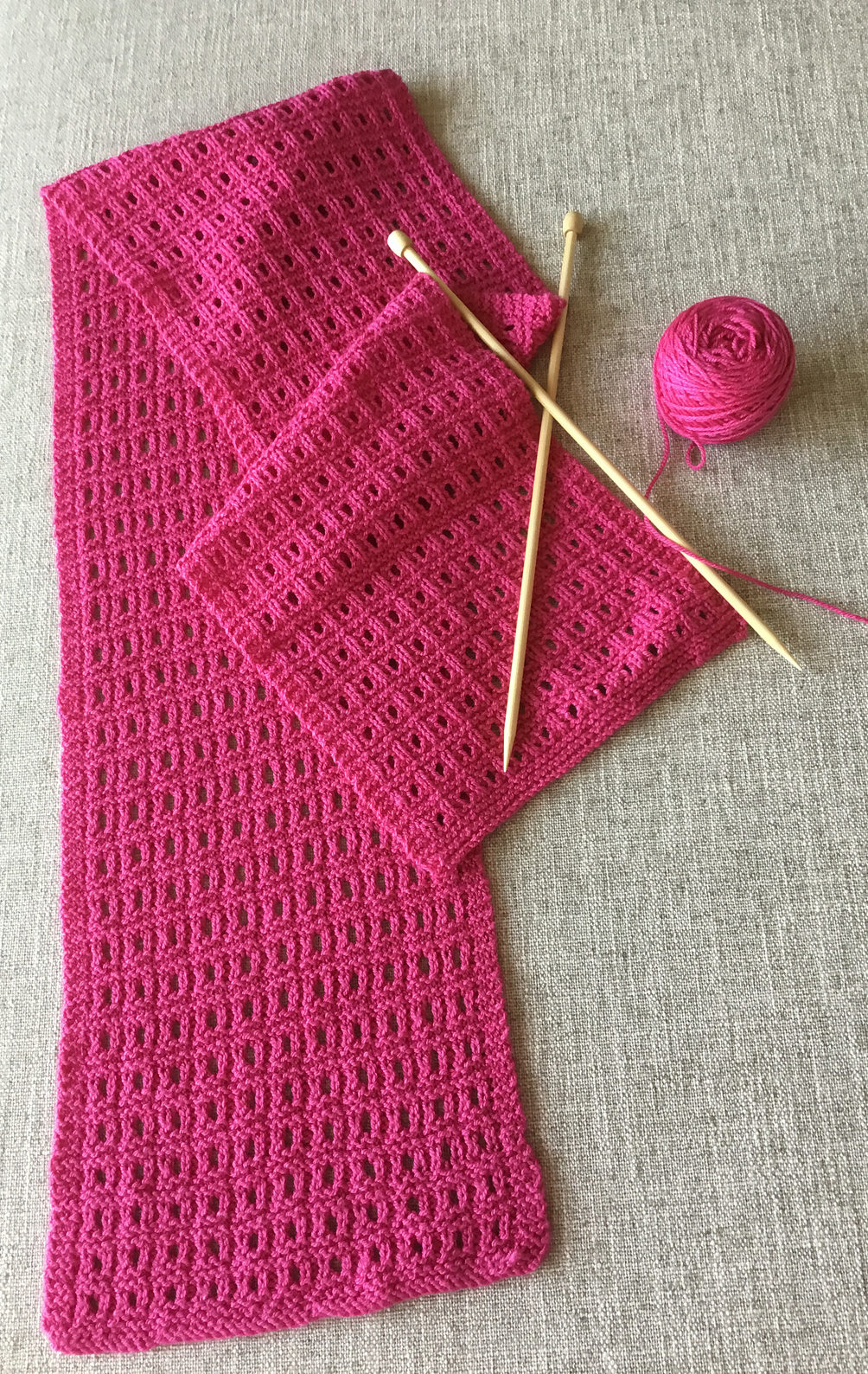 Open Knit Scarf Pattern Reversible Scarf Knitting Patterns In The Loop Knitting