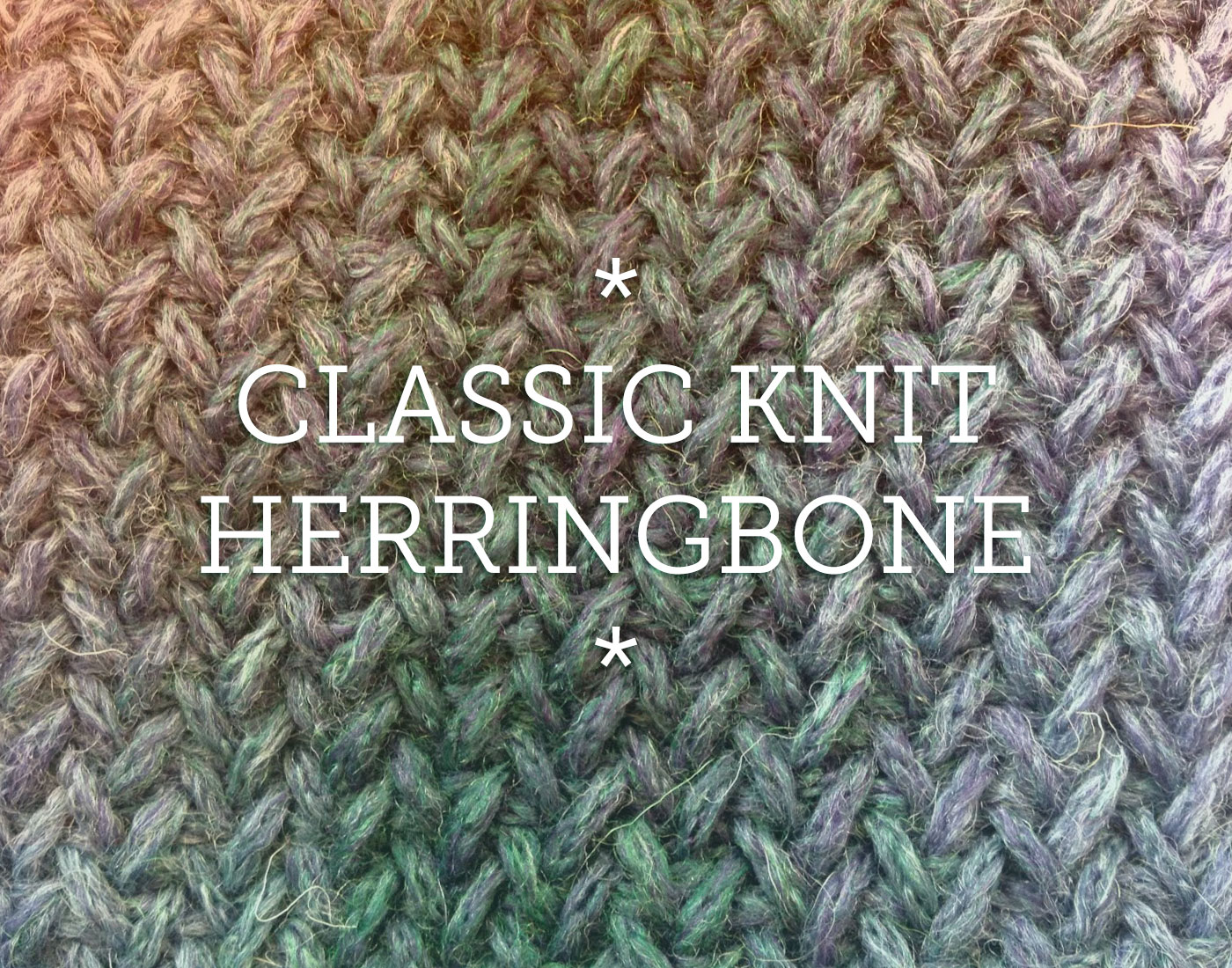Pattern Knit Herringbone Knit Patterns For Scarves Cowls And Blankets