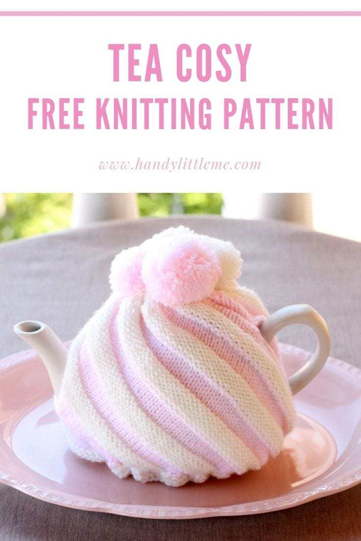 Patterns For Knitted Tea Cosies Tea Cozy Ice Cream Swirl Free Knitting Patterns Handy Little Me