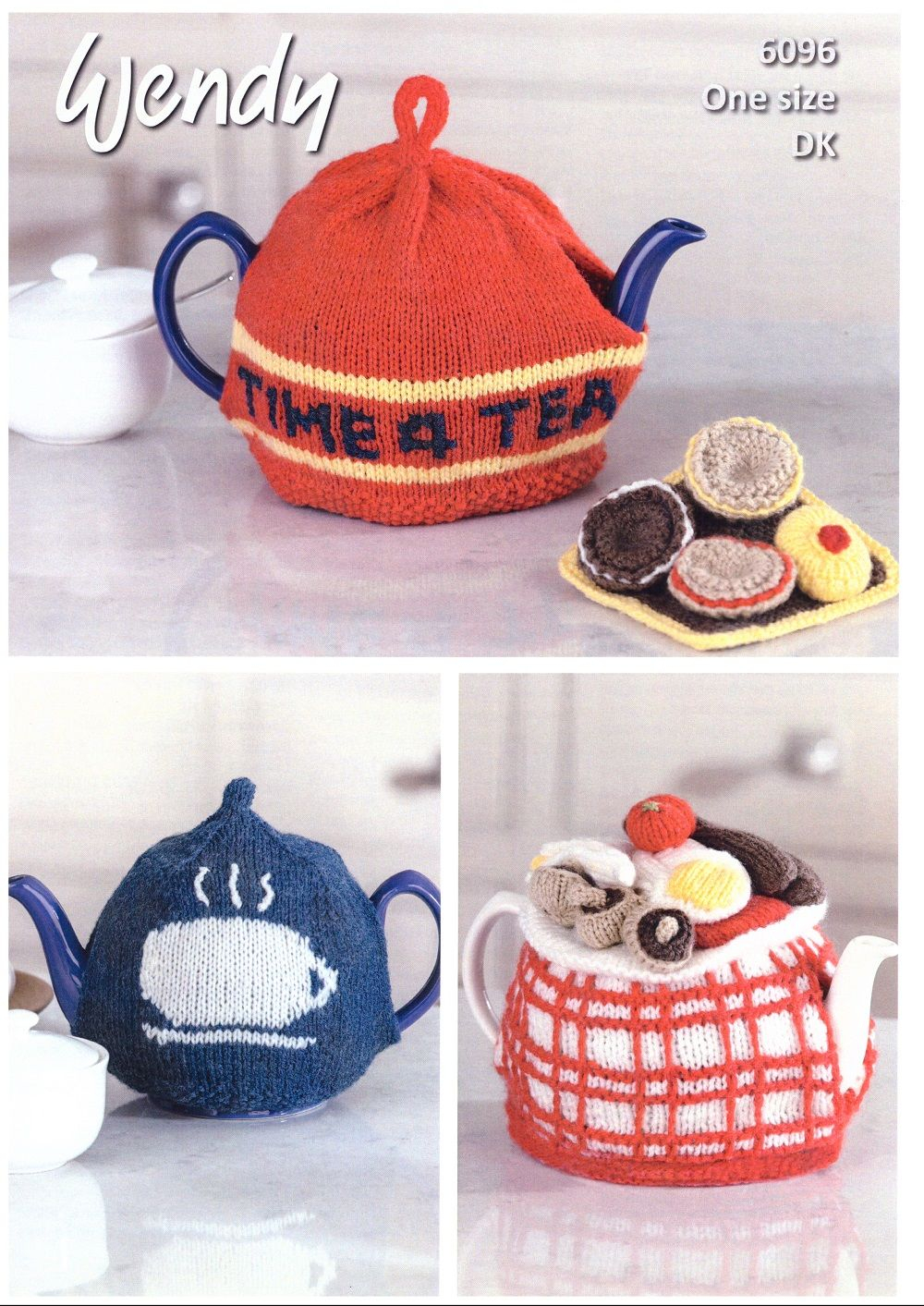 Patterns For Knitted Tea Cosies Wendy Tea Cosies Knitting Pattern In With Wool Dk 6096