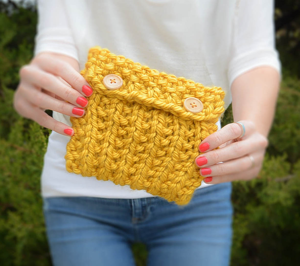 Pouch Knitting Pattern Anything Knit Pouch Mama In A Stitch