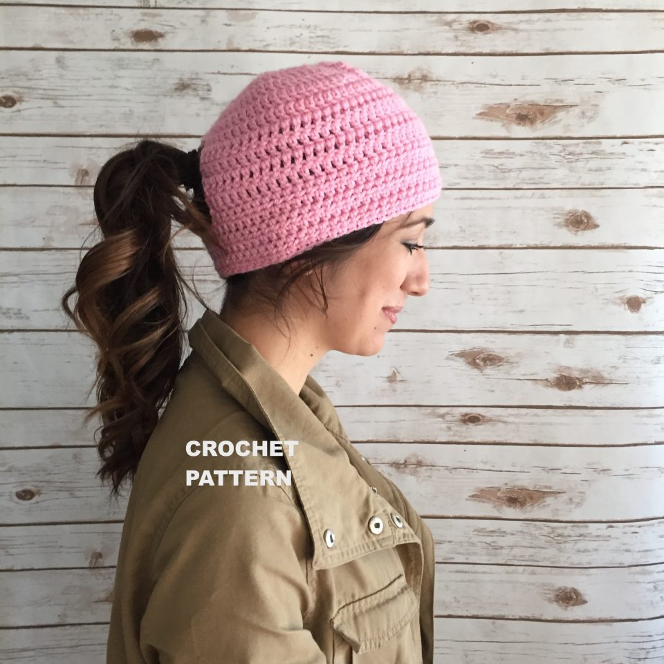 Ravelry Patterns Knitting Photos Crochet Hat With Ponytail Women Black Haircuts For Pattern