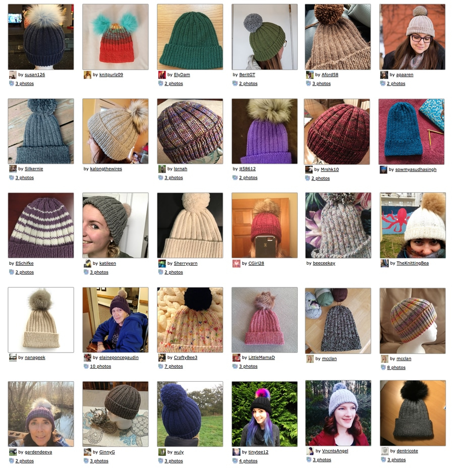 Rivalry Knitting Patterns Gilmore Girls Hat Knitting Pattern Studio Knit