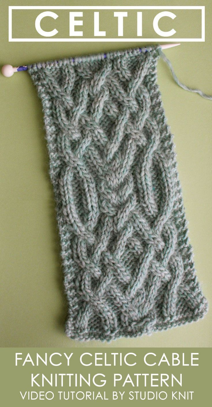 Rivalry Knitting Patterns Knitting Patterns Ravelry Learn How To Knit This Fancy Celtic Cable
