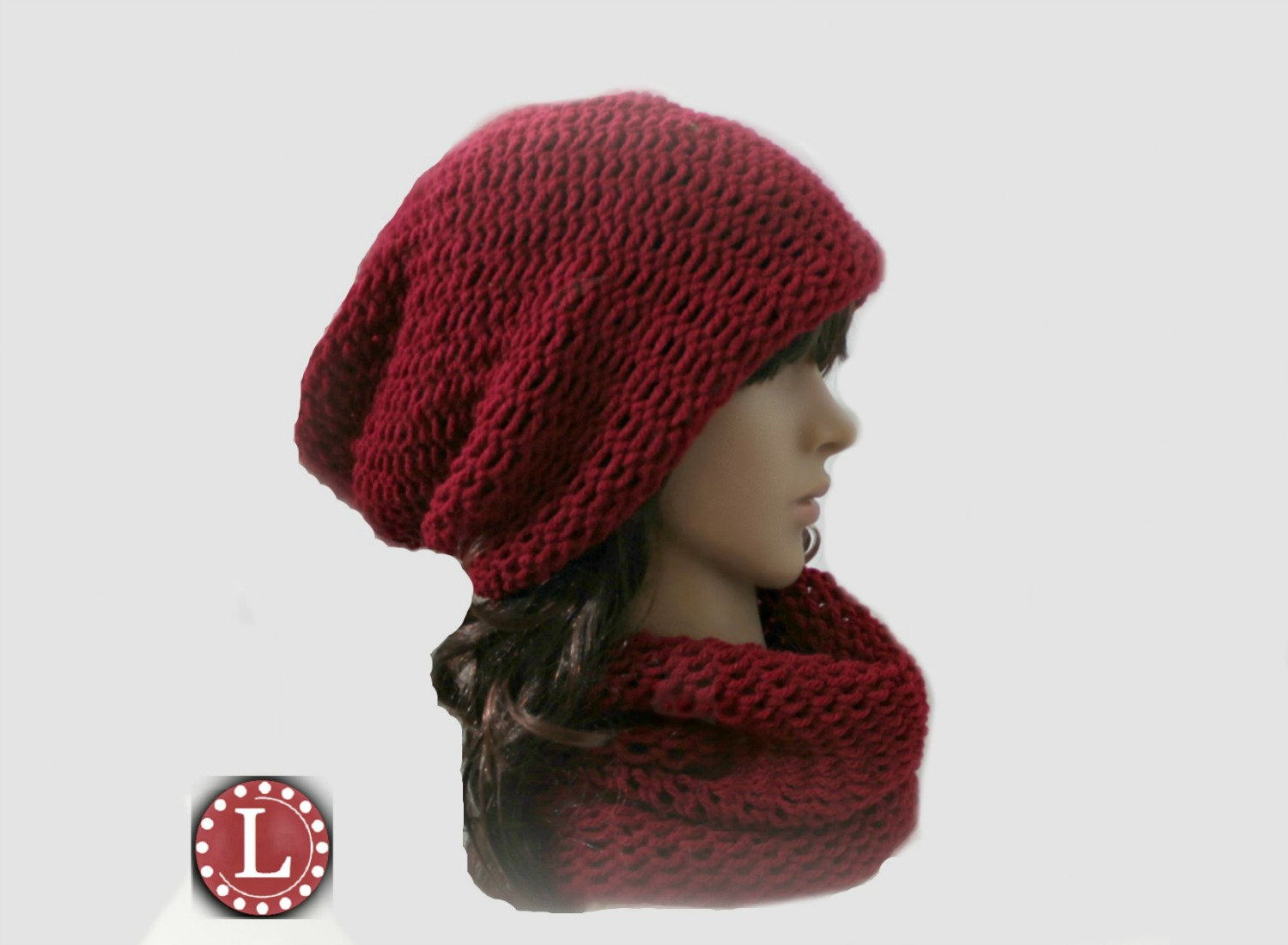Round Knitting Loom Patterns Free Simple Slouchy And Cowl Free Pattern And Video Loomahat