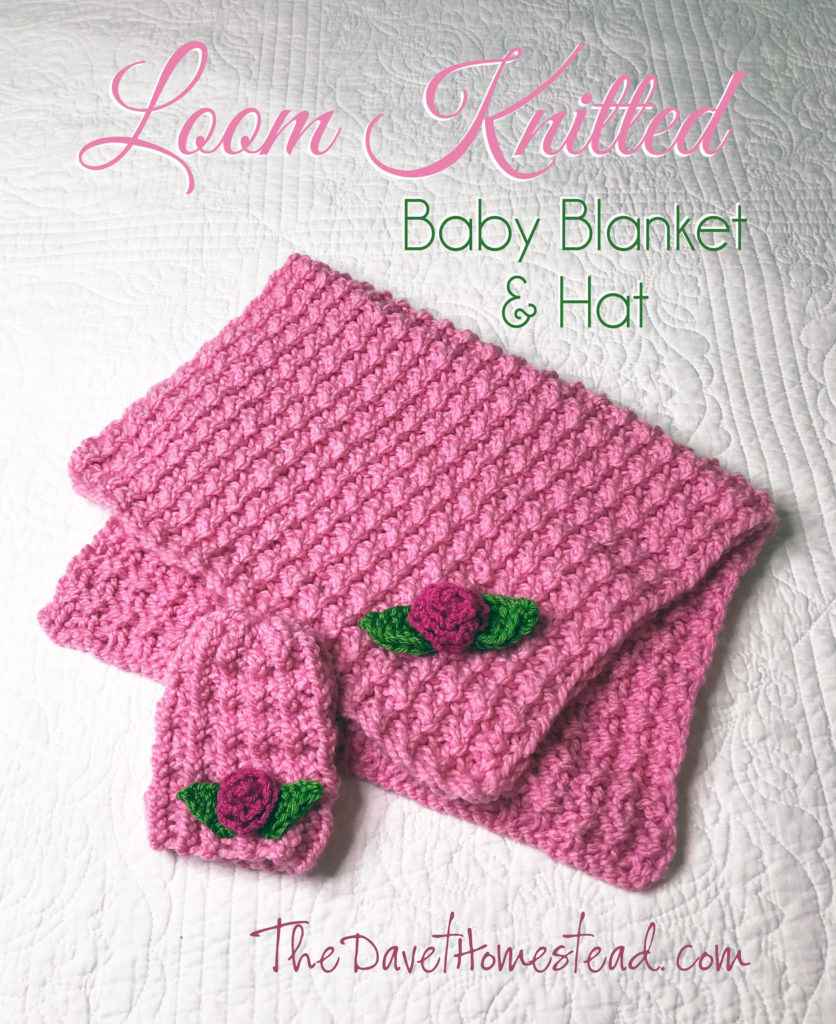 Round Loom Knitting Patterns Download Borderless Loom Knitted Ba Blanket And Hat