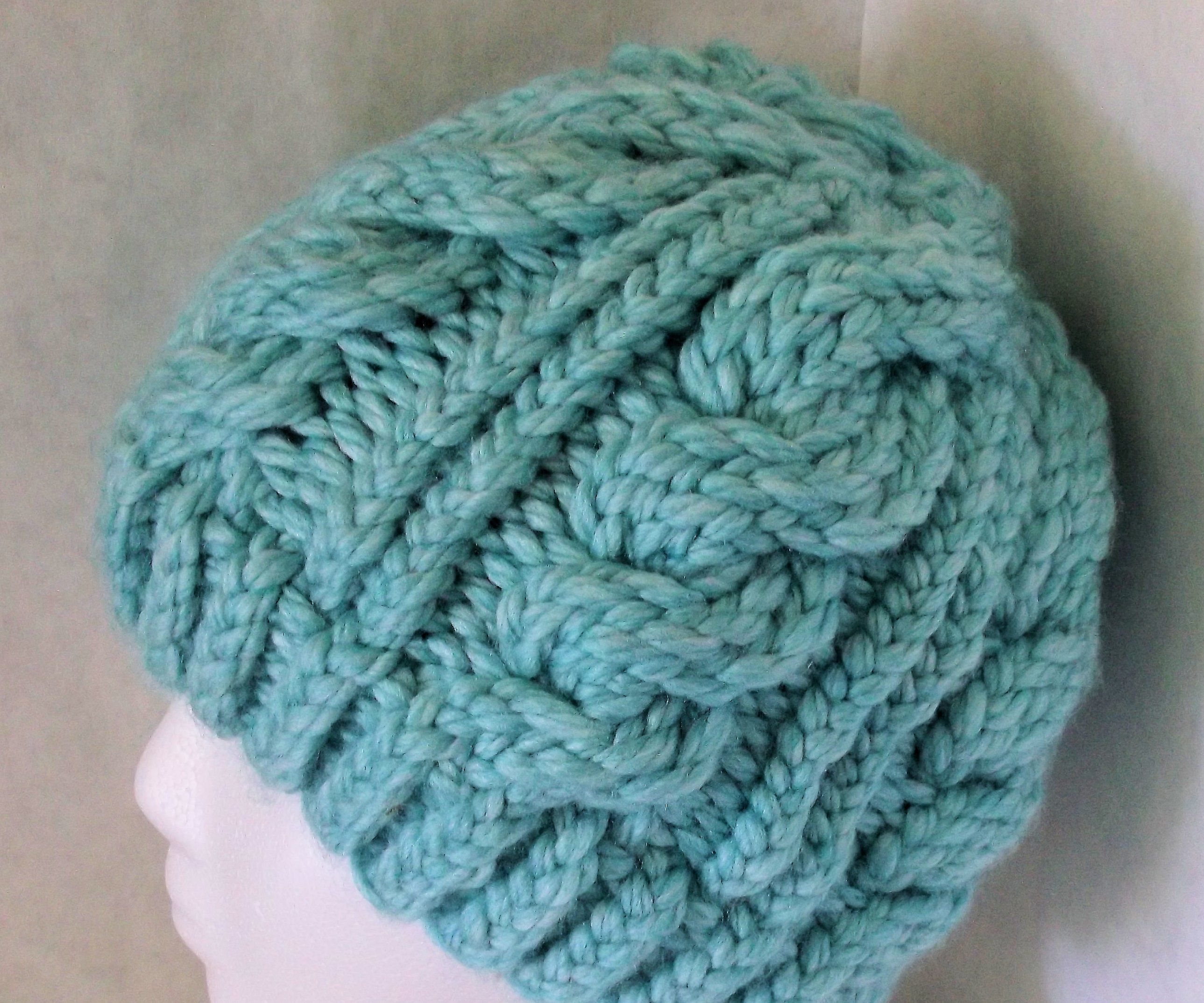 Round Loom Knitting Patterns Download Loom Knitting Cables 6 Steps With Pictures