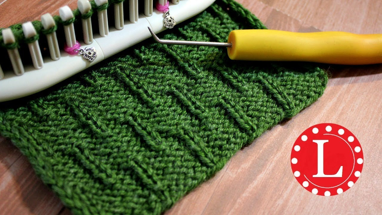 Round Loom Knitting Patterns Download Loom Knitting Stitch Patterns The Caterpillar On Any Loom Round Or Long Loomahat Knit Stitches