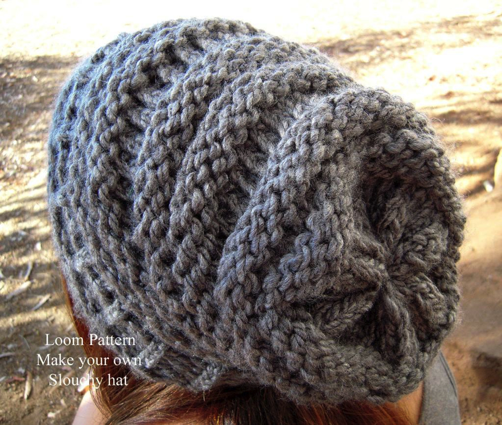Round Loom Knitting Patterns Download Round N Round Give Your Needles A Break With Round Loom Knitting