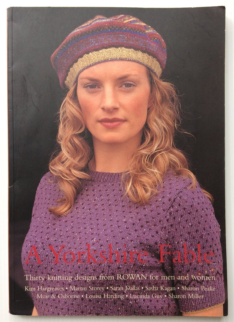 Rowan Knitting Pattern Books A Yorkshire Fable Rowan Knitting Book Thirty Knitting Designs For Men And Women