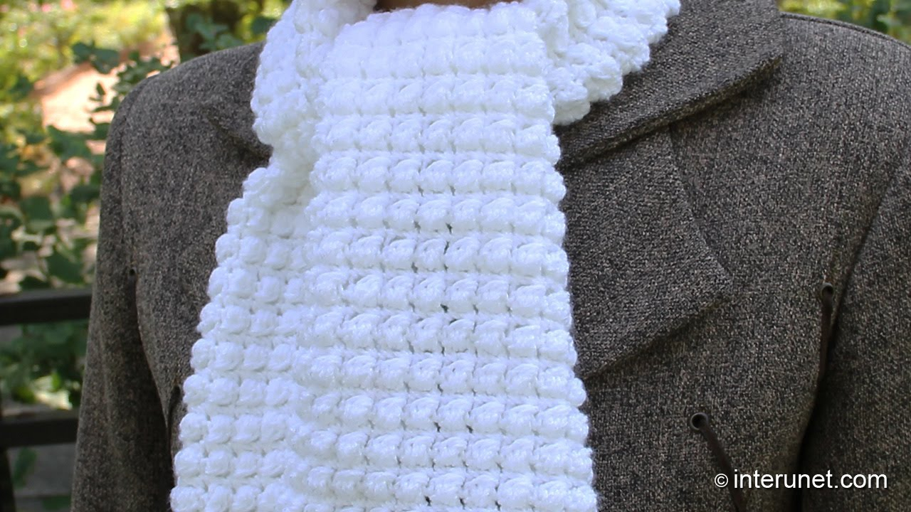 Scarf Patterns Knitting Beginner How To Crochet A Scarf Pattern For Beginners