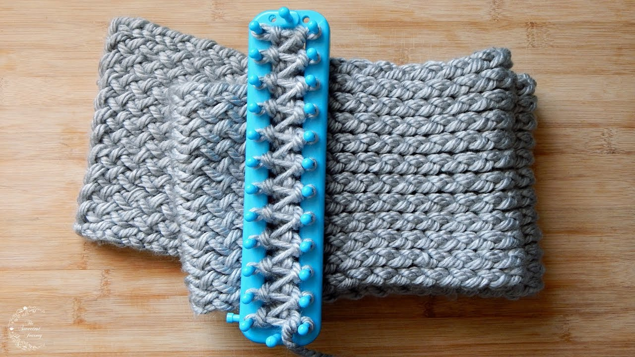 Scarf Patterns Knitting Beginner How To Loom Knit A Scarf Easy Pattern For Beginners The Sweetest Journey