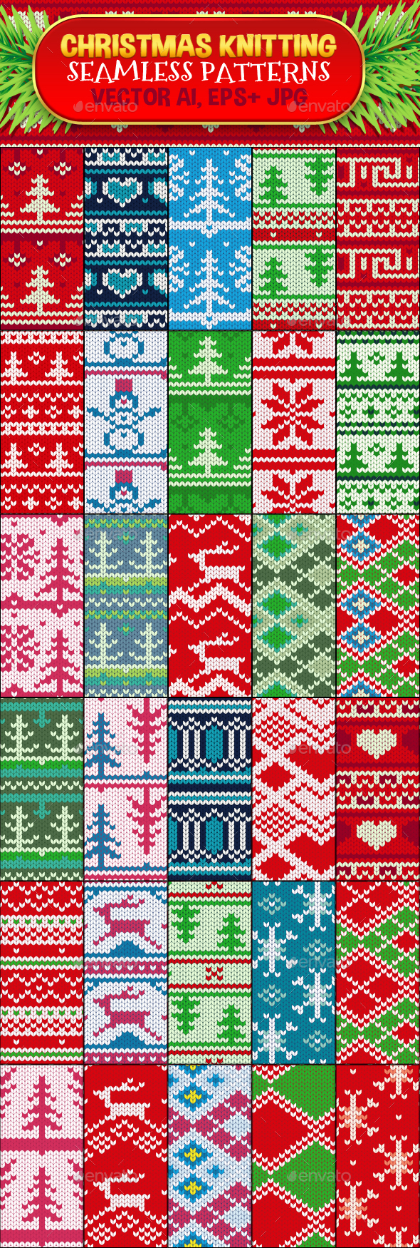 Seamless Knitting Patterns Seamless And Wool Graphics Designs Templates