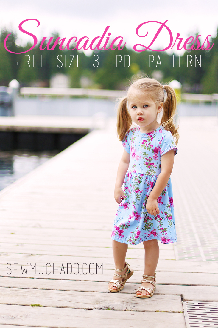 Simple Knit Dress Pattern 20 Must Sew Free Girls Dress Patterns Sew Much Ado