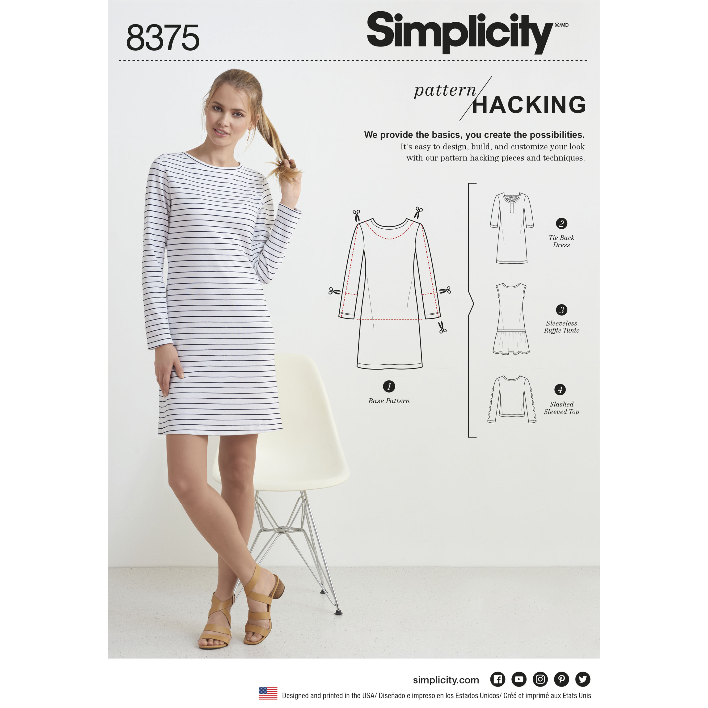 Simple Knit Dress Pattern Sewing Simple Jersey Shift Dress Orange County Library System