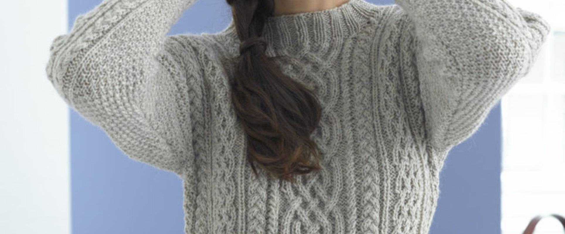 Simple Knit Sweater Pattern Free Top 5 Free Aran Jumper Knitting Patterns For Women Lovecrafts