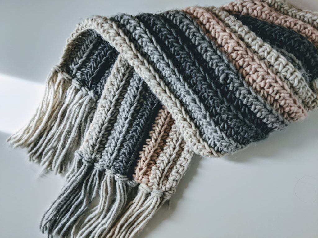 Simple Scarf Knitting Patterns For Beginners Beginner Crochet Scarf Free Pattern Jewels And Jones