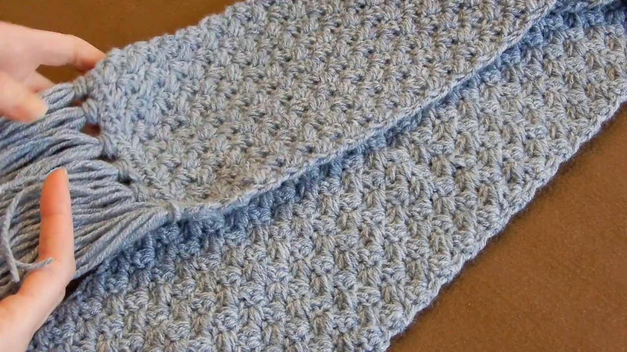 Simple Scarf Knitting Patterns For Beginners Crochet Scarf Tutorial 1 Easy Elegant And Simple Beginner Level