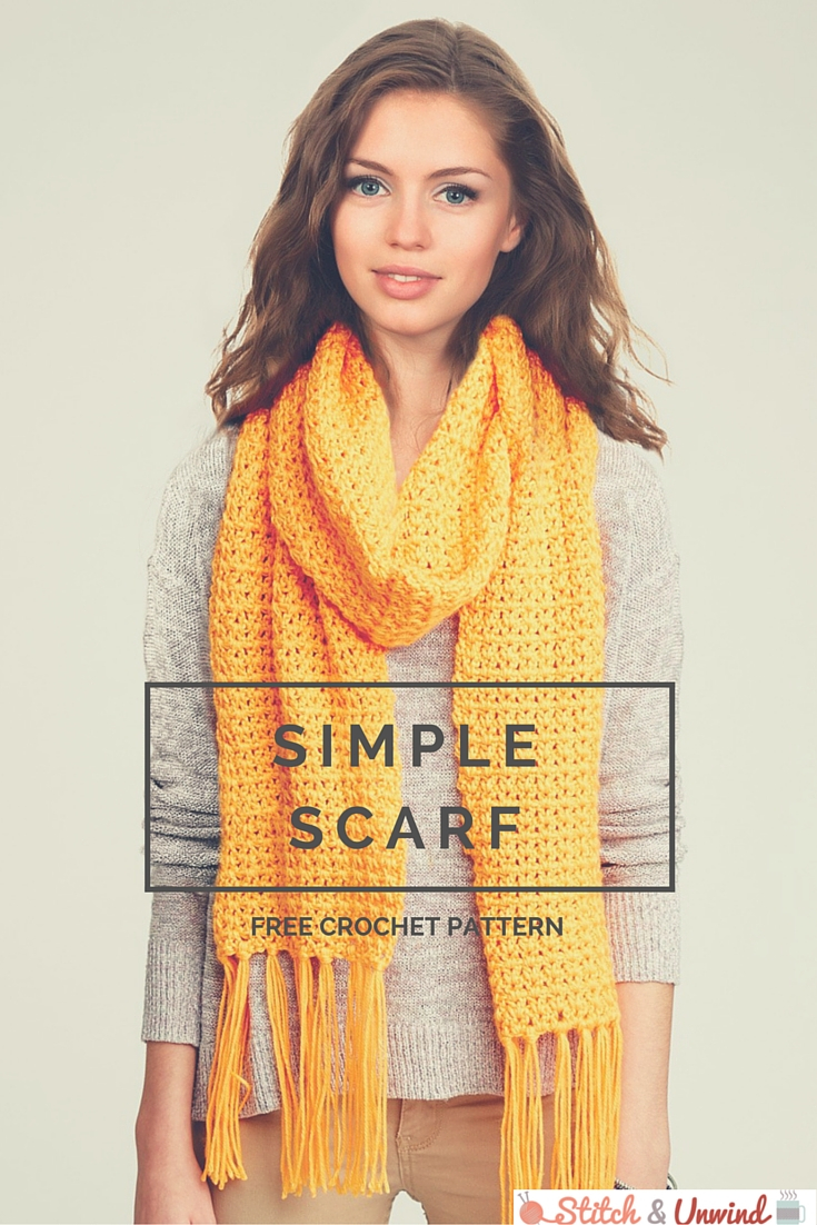 Simple Scarf Knitting Patterns For Beginners Free Pattern Friday Crochet Scarf Pattern From Yarnspirations
