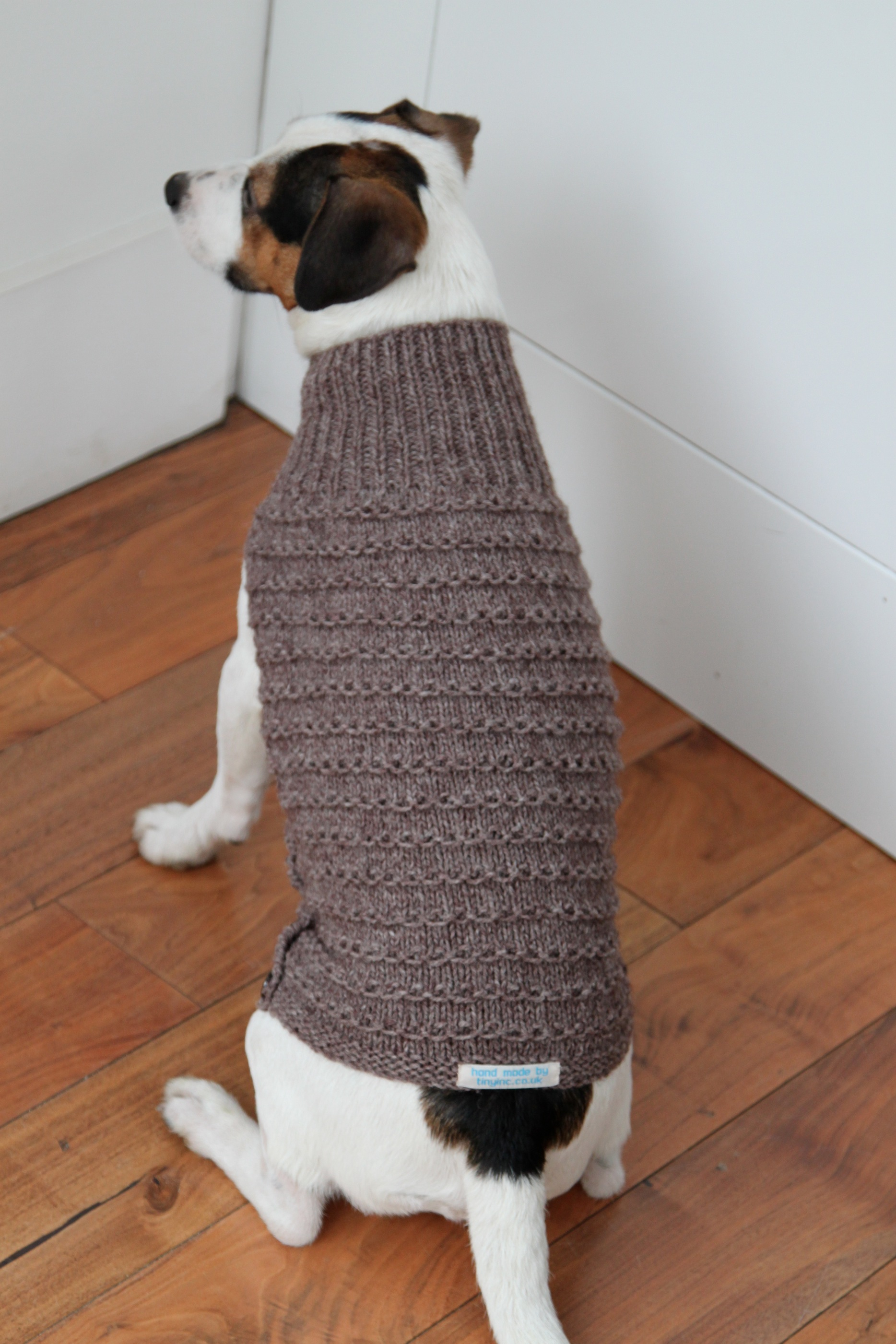 Small Dog Coat Knitting Pattern Free Canine Couture Of The Knitted Variety Tinyinc