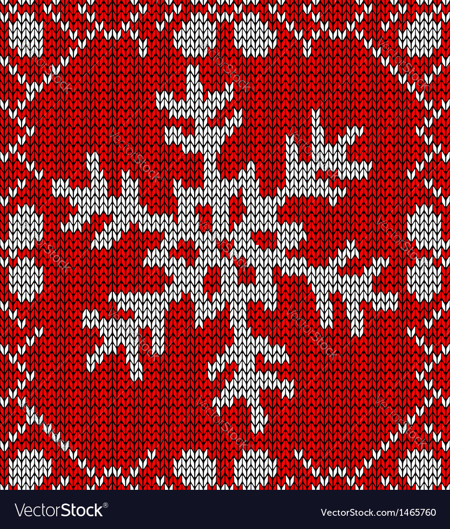 Snowflake Pattern Knitting Christmas Snowflake Knitting Pattern