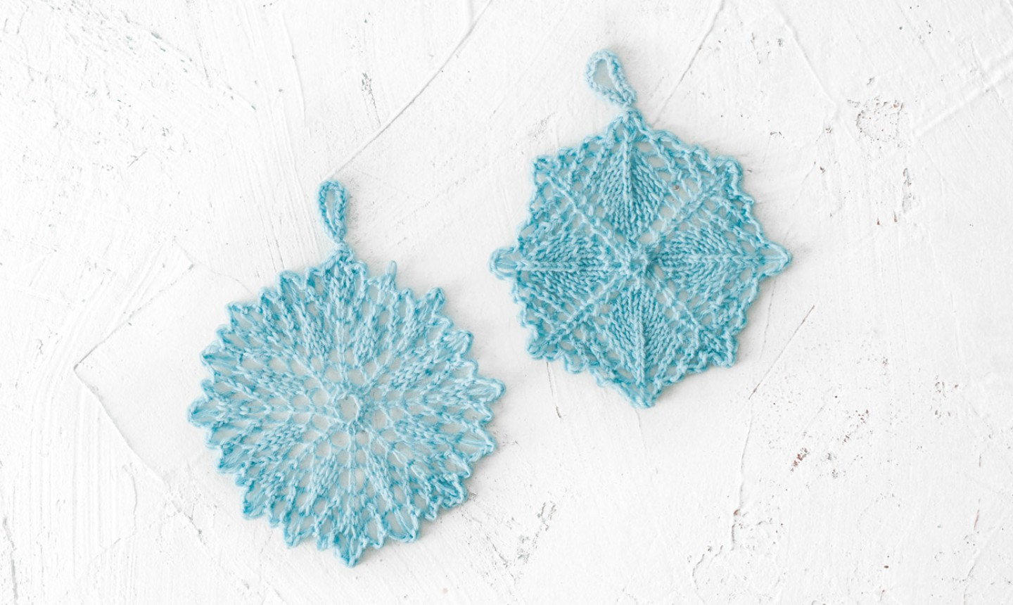 Snowflake Pattern Knitting Let It Snow With Cozy Knit Snowflakes Free Pattern Alert