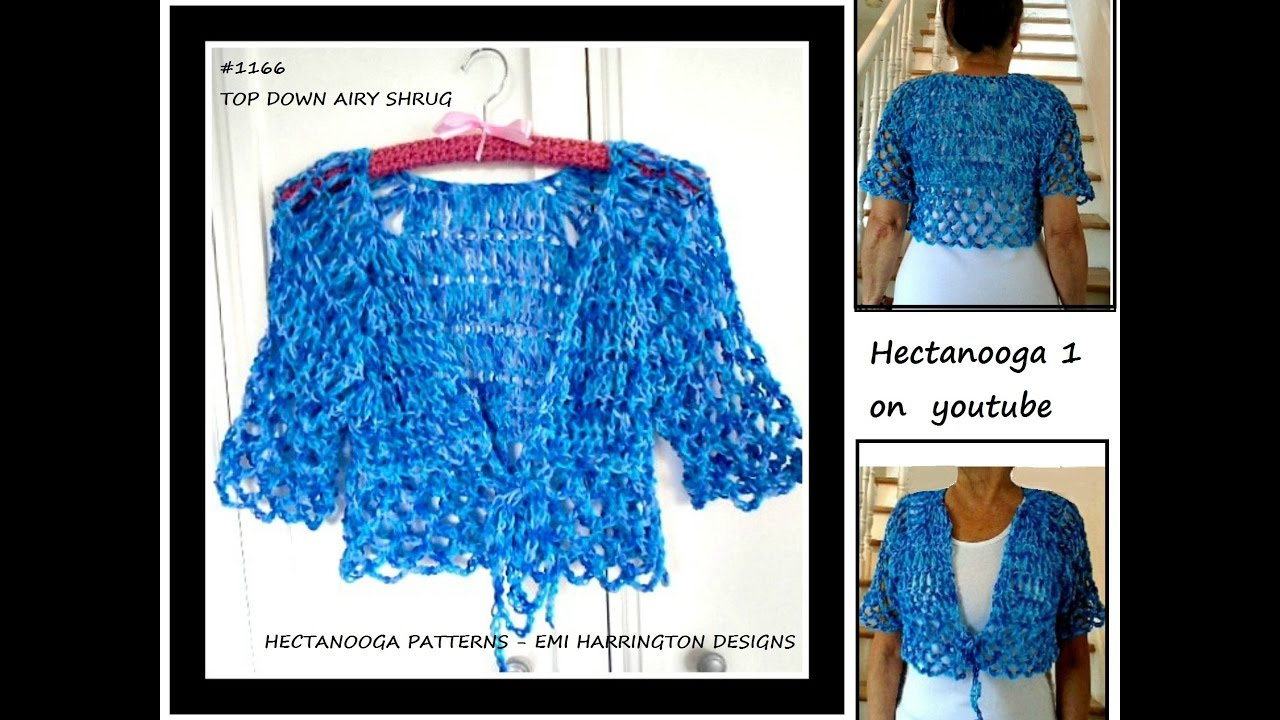 Summer Shrug Knitting Pattern Free Crochet Pattern Top Down Airy Summer Shrug 6 Yrs To Plus Size Xxl 1166 Sweaters Tops