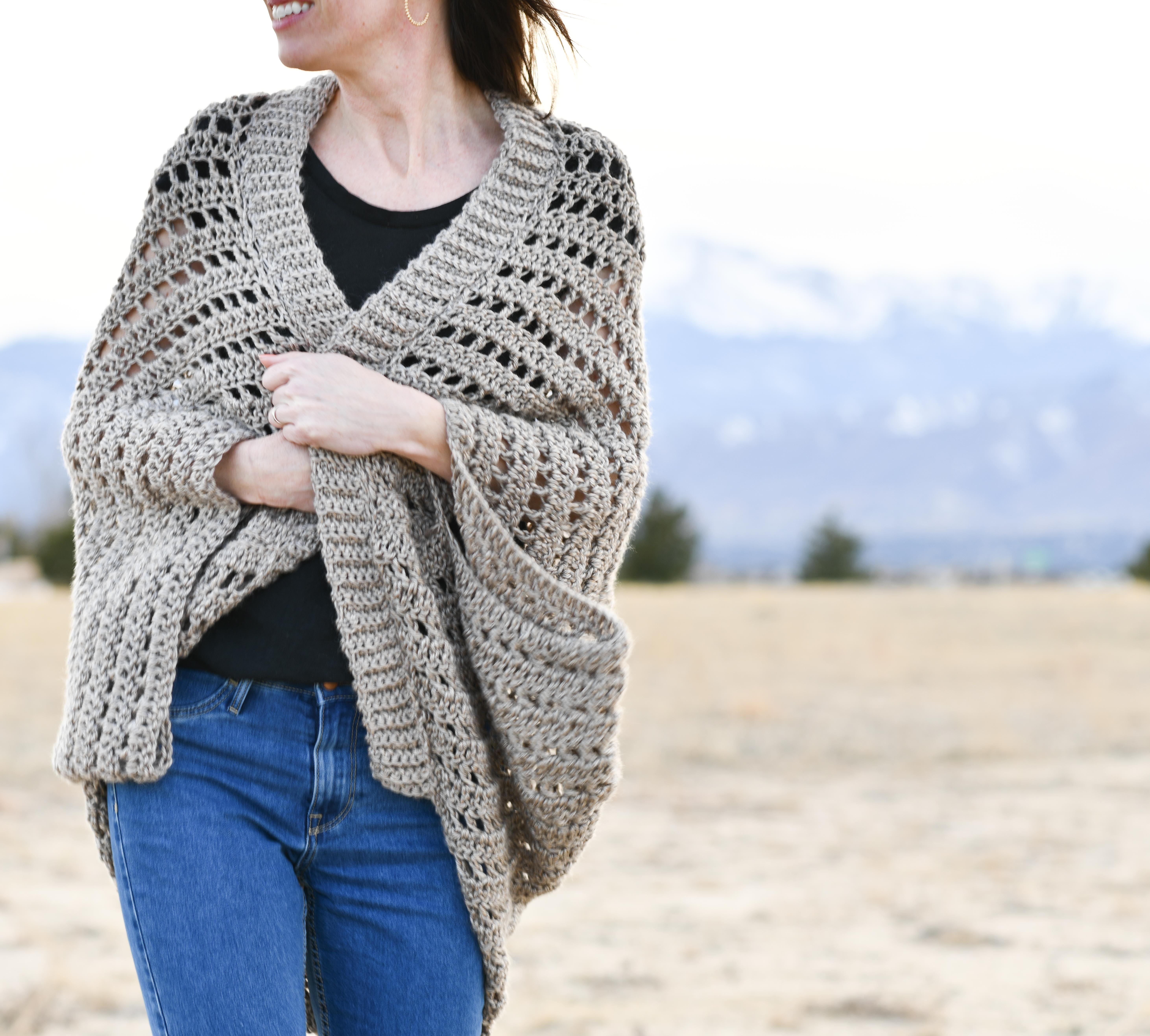 Summer Shrug Knitting Pattern How To Crochet An Easy Summer Shrug Mama In A Stitch