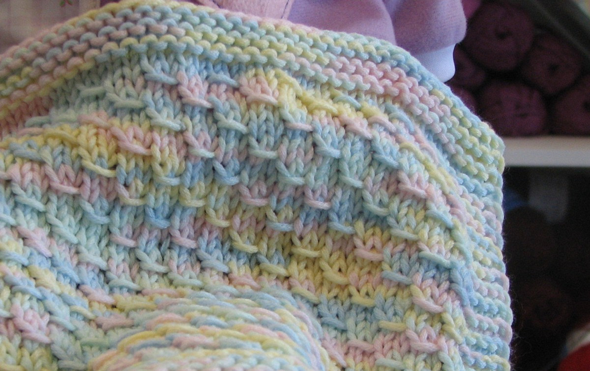 Super Easy Knit Baby Blanket Pattern Beautiful Knit Ba Blanket House Photos How To Knit Ba