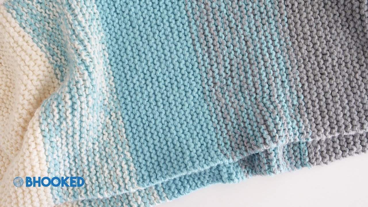 Super Easy Knit Baby Blanket Pattern How To Knit A Ba Blanket For Complete Beginners Easy Knit Ba Blanket