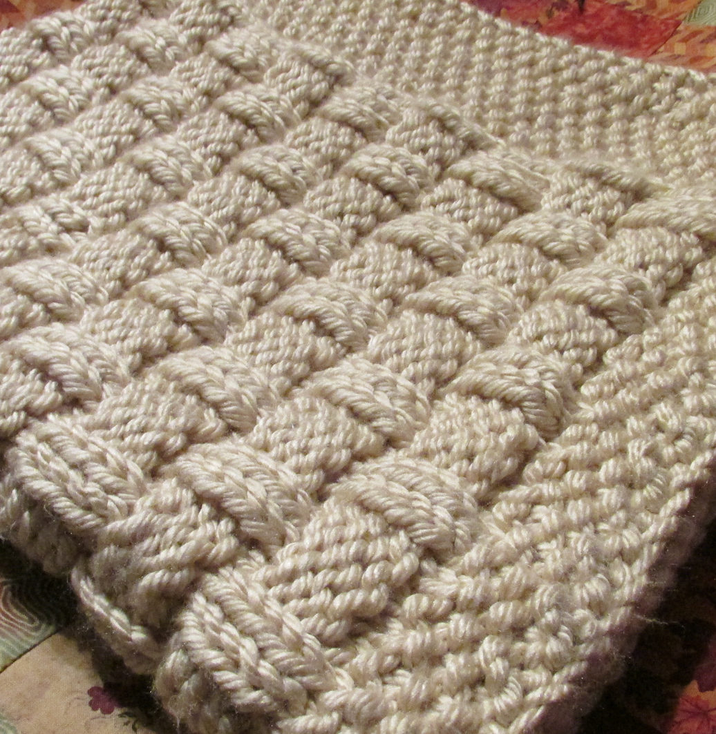 Super Easy Knit Baby Blanket Pattern Quick Ba Blanket Knitting Patterns In The Loop Knitting
