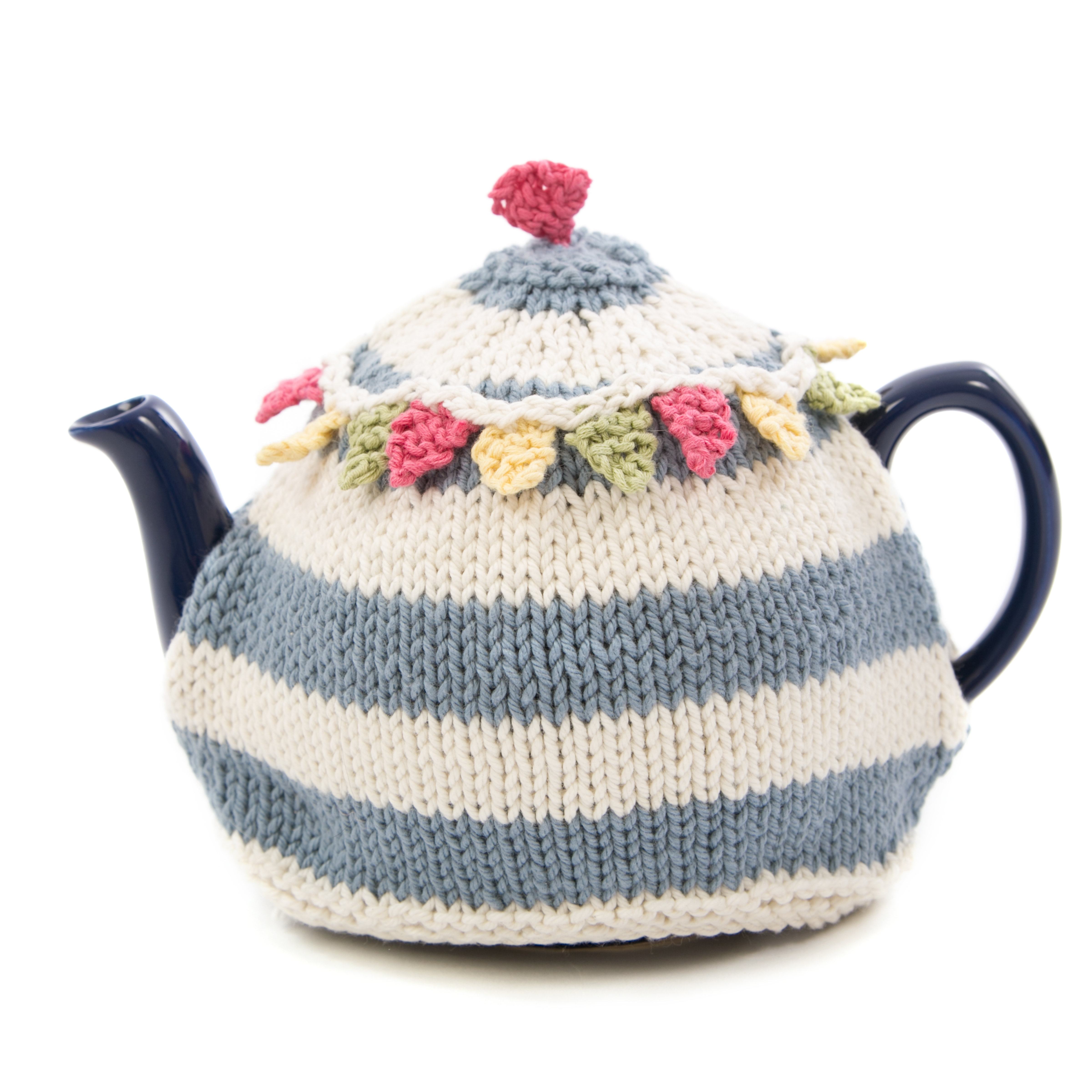 Tea Cosy Patterns To Knit Summer Bunting Tea Cosy