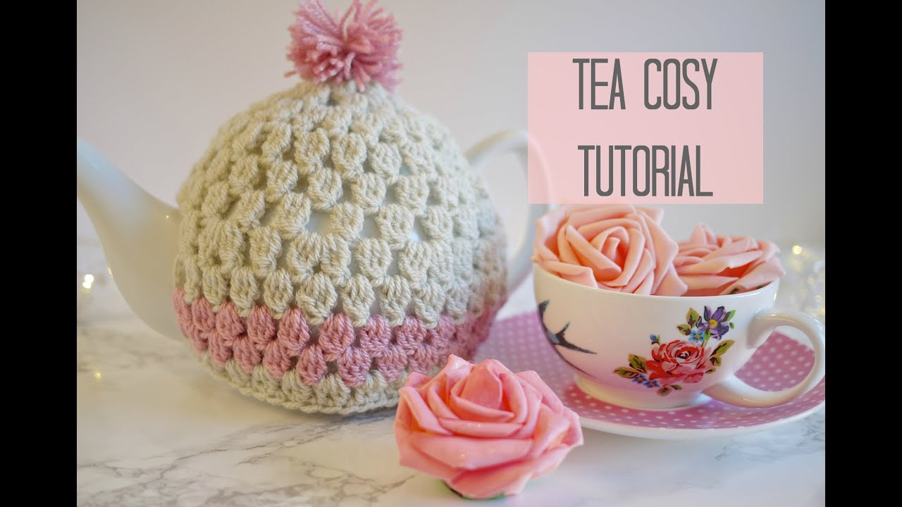 Tea Cozy Patterns To Knit Crochet Tea Cosy Tutorial Bella Coco