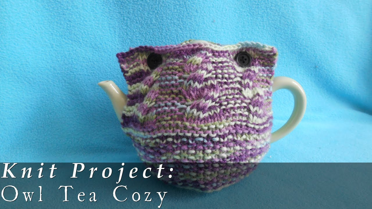 Tea Cozy Patterns To Knit Owl Tea Cozy Knit