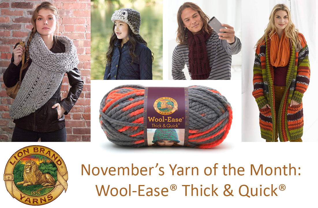 Thick And Thin Yarn Knitting Patterns Beat The Chill With 10 Popular Wool Ease Thick Quick Patterns