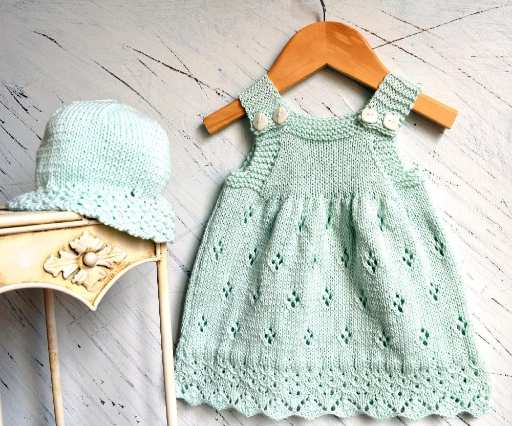 Trendy Baby Knitting Patterns How To Make A Lace Ba Hat Patterns