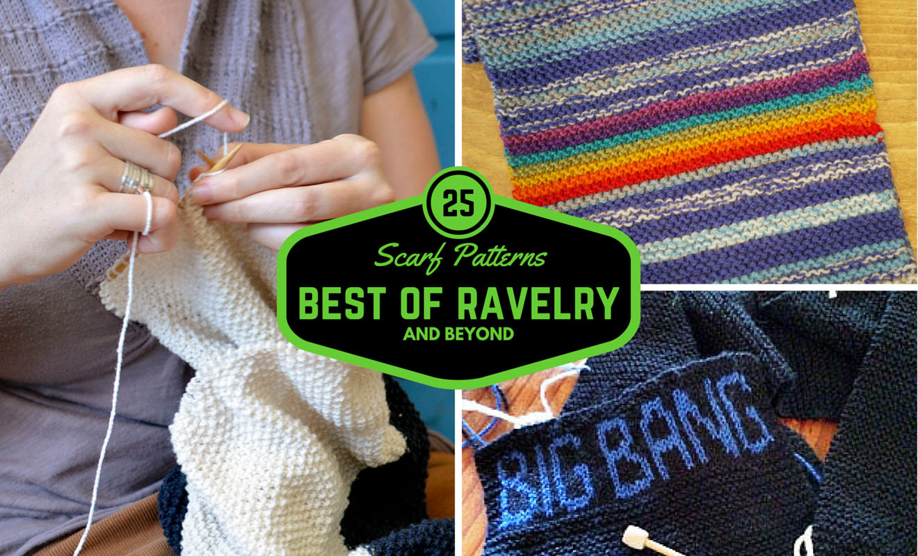 Variegated Yarn Patterns Knitting 25 Scarf Knitting Patterns The Best Of Ravelry Beyond