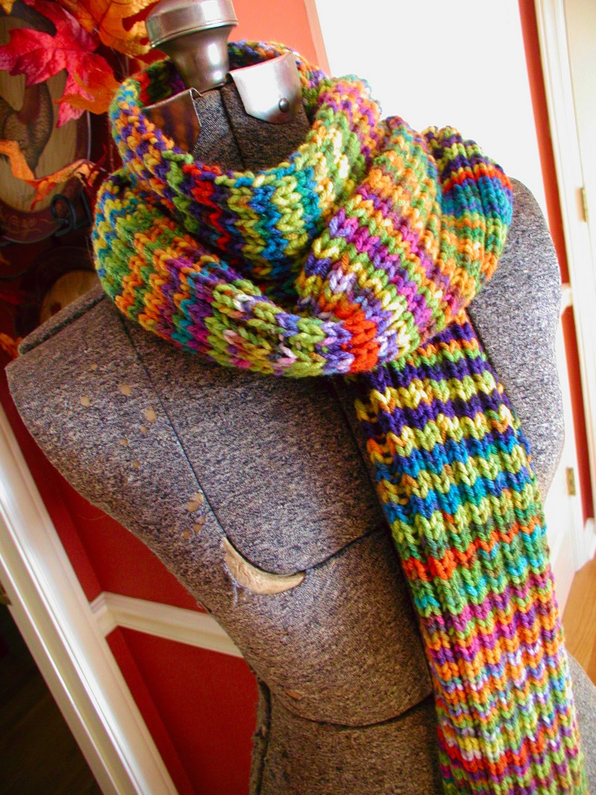 Variegated Yarn Patterns Knitting Fiddlesticks My Crochet And Knitting Ramblings The Technicolor