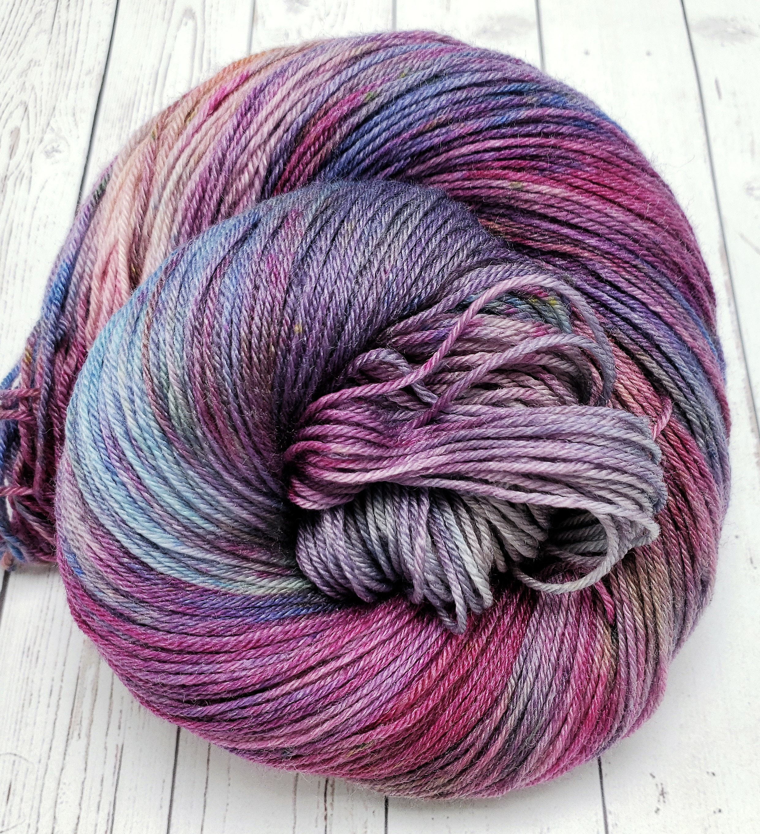 Variegated Yarn Patterns Knitting Touch Of Pink Bamboo Merino Yarn For Knitting Crochet Weaving
