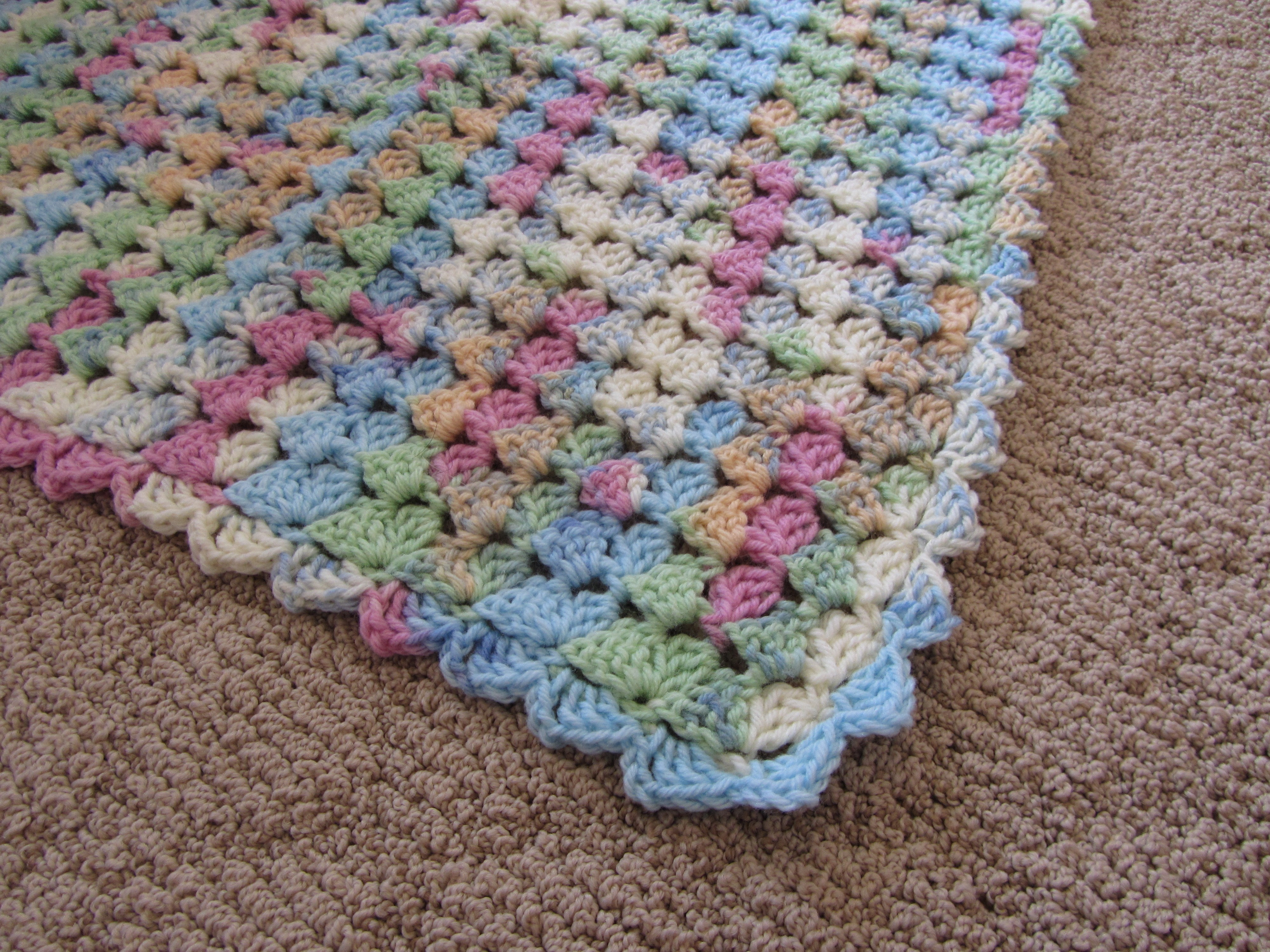 Variegated Yarn Patterns Knitting Variegated Yarn Crochet And Knit Ba Blanket Patterns With Empoto