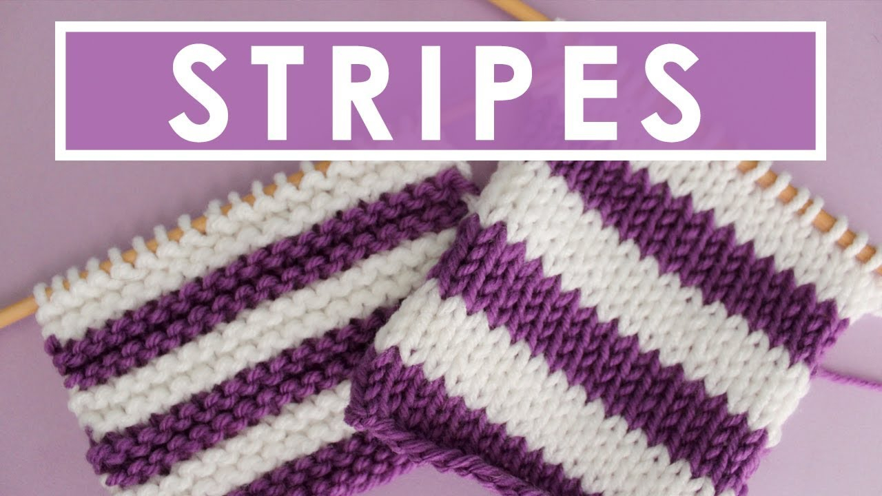 Vertical Striped Scarf Knitting Pattern 5 Top Tips To Help You Knit Stripes Knitting Stripes Series