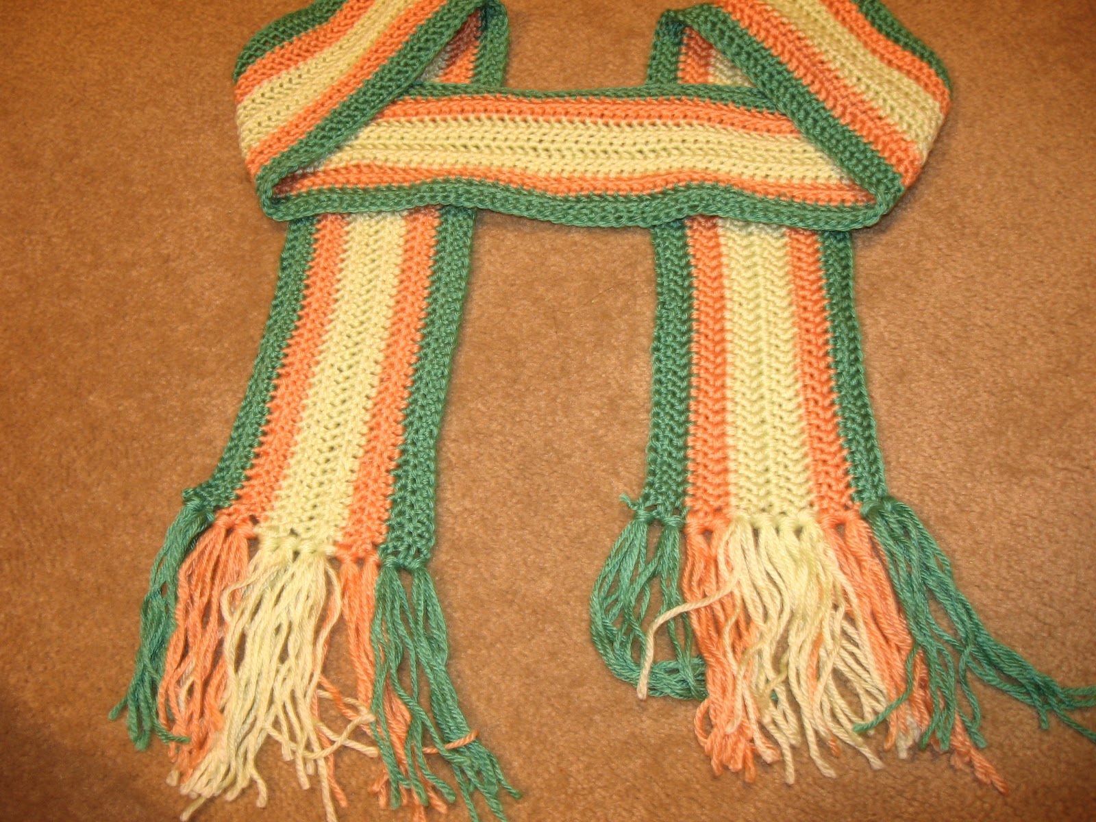 Vertical Striped Scarf Knitting Pattern Crafting Adventures Vertical Stripe Scarf