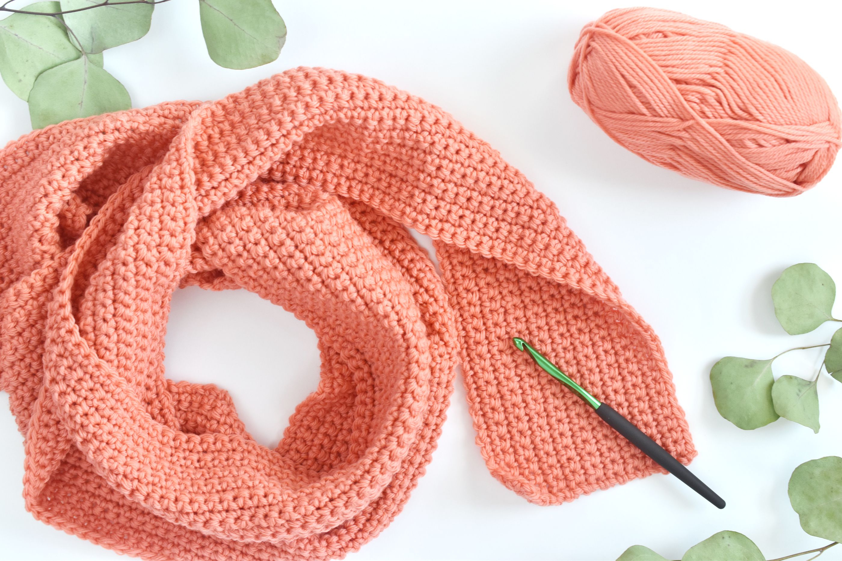 Vertical Striped Scarf Knitting Pattern How To Crochet A Scarf For Beginners