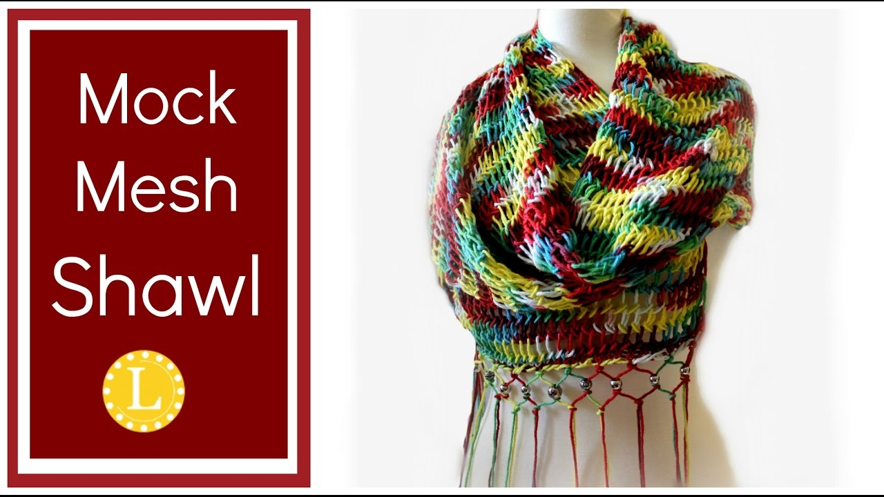 Vertical Striped Scarf Knitting Pattern Start To Finish Patterns Cindwood Looms