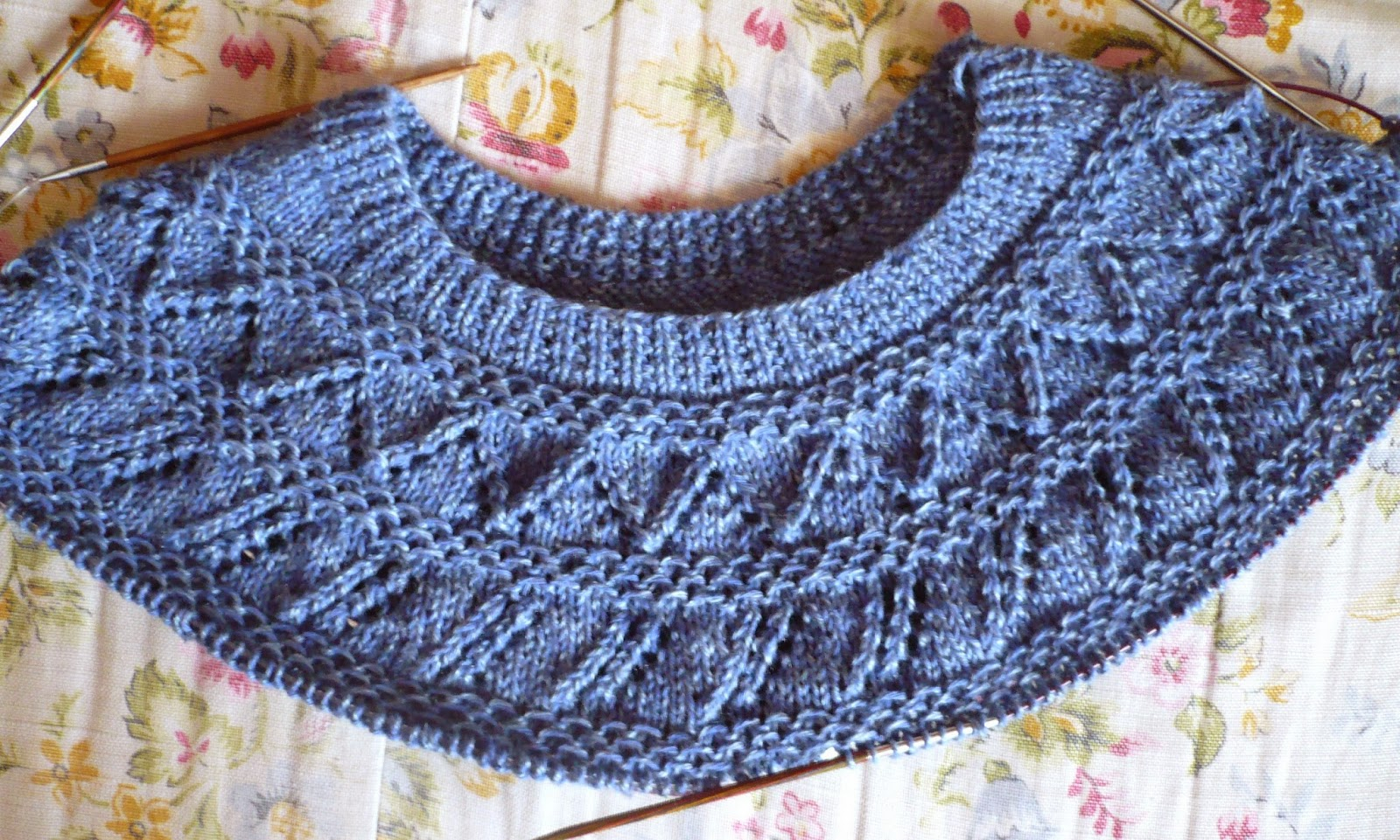 Yoke Knitting Pattern Cabin Fever Sisters Knit Circular Yoke Ii