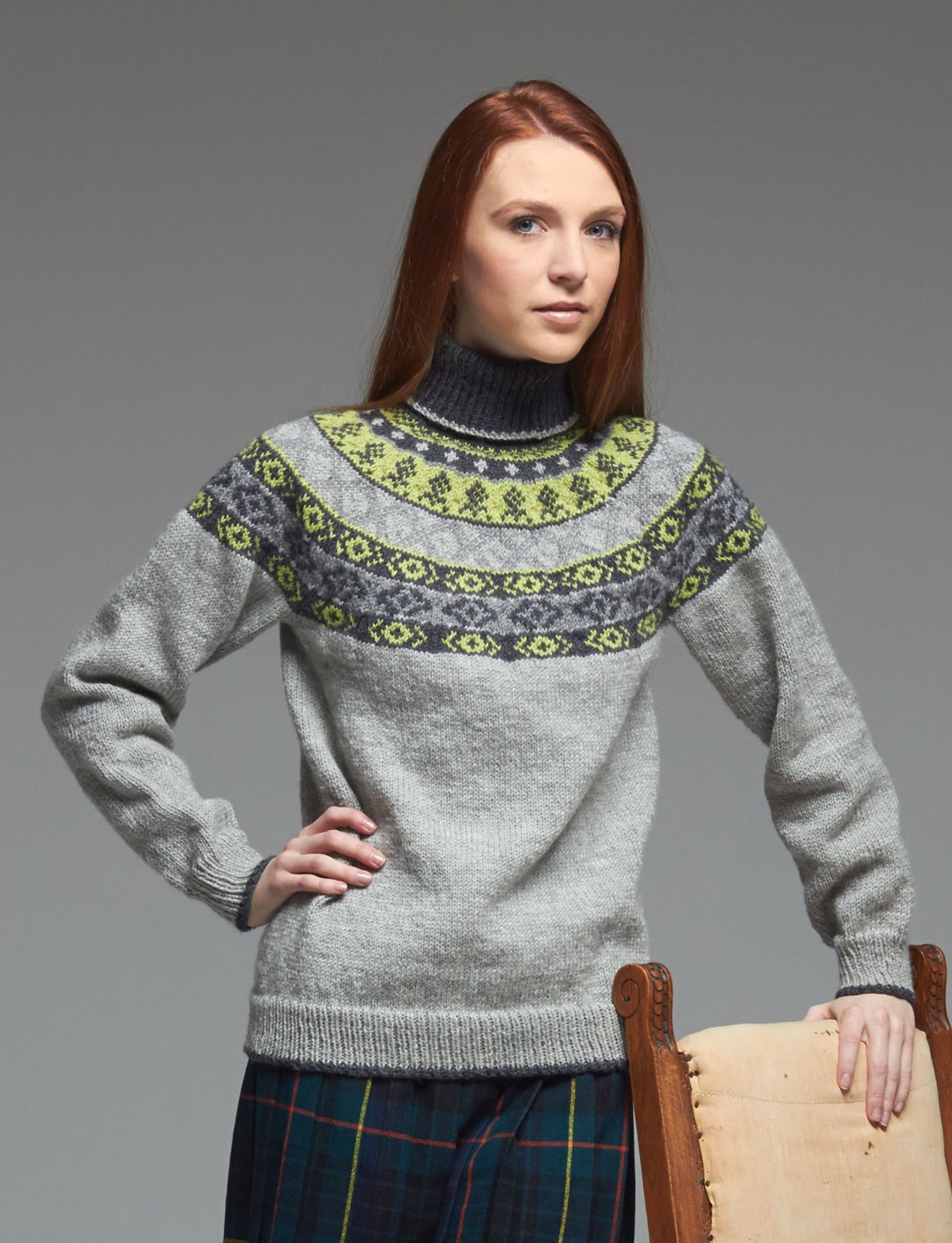 Yoke Knitting Pattern Fair Isle Yoke Sweater Pattern Cocktail Dresses 2016